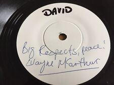 "No Fears - Wayne McArthur Signed 7"" Test Pressing"