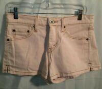 Levi's Denim SuperLow 518 Pink Jean Shorts Women's Size 5