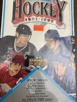 Upper Deck 1991-92 NHL Hockey Wax Box Sealed Wayne Gretzky  ENGLISH Version