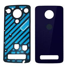 Genuine Motorola Moto Z3 Play XT1929 Glass Battery Back Cover Door+Adhisve Black