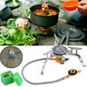 Outdoor Camp Hiking Picnic Gas Stove Furnace Split Burner Cookout Portable