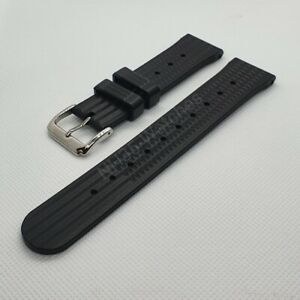 22mm NH35-Watches FKM Rubber Waffle Strap, Seiko SKX, Turtle SRP, 6309, 7002