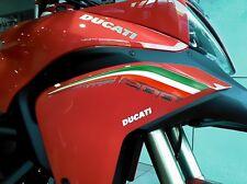 Kit ADESIVI 3D PROTEZIONI Coda per MOTO DUCATI MULTISTRADA 1200 Italia 2010-2014