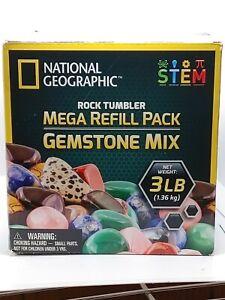 National Geographic Rock Tumbler Mega Refill Pack 3 Lbs