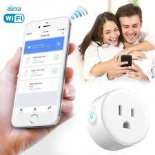 Smart Wi-Fi Wireless Socket Outlet Switch w/ Alexa Phone Remote Control US Plug