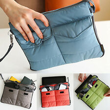 Latest Portable Carry Storage Nylon Bag Zip Organizer Case for iPad Tablet