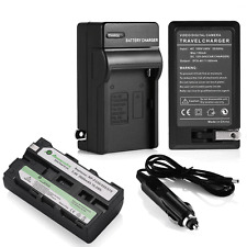 Battery + Charger for Sony NP-F550 NP-F330 NP-F570 NP-F750 NP-F960 F970 F770