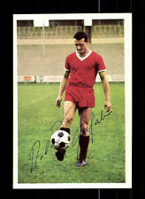 Roland Kiefaber 1 FC Kaiserslautern 1965-66 Bergmann sammelbild Originale SIGN