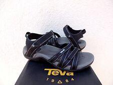 79ccccca2fd154 TEVA TIRRA BLACK METALLIC STRAPPY SPORT  WATER SANDALS
