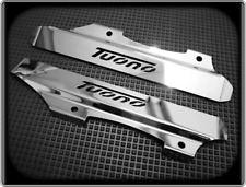 Radiator End Caps for APRILIA TUONO 1000 - All up to 2005 - Polished Cooler Caps