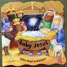 Child book Baby Jesus Bible Dial-a-Picture Barron's