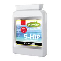 5HTP 100mg Capsules Appetite Insomnia Control Depression Serotonin Anxiety UK