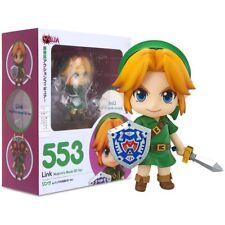 The Legend of Zelda Link 3d Majora Mask Action Figure Doll Toy Nendoroid