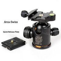 Arca Swiss Camera Ball Head Quick Release Plate For Tripod BENRO Manfrotto Canon