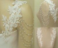 Wedding Jackets Lace Top Bridal Bolero Wraps Shawl Straps for Strapless Dress