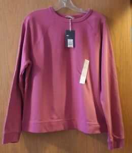 Women's Crewneck Sweatshirt - Universal Thread Pink Size Large,