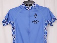 PANACHE Periwinkle Blue Multi Argyle Team Cycling Bike Jersey -Men's  XS