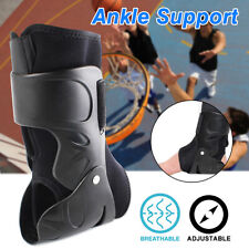 Ankle Hinged Support Brace Foot Guard Sprain Injury Pain Stabilizer Wrap Protect