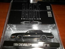 GREENLIGHT 1/64 BLACK BANDIT SERIES 13 BLACK 1984 CHEVROLET MONTE CARLO SS