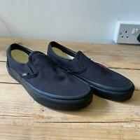 Vans Classic Slip-On Trainers Black - UK 5 New