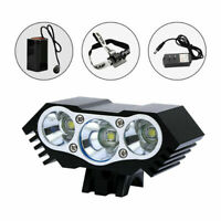 12000 Lm 3 x XML T6 LED 3 Modes Bicycle Lamp Bike Light Headlight Cycling Torch