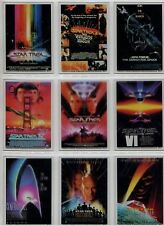 Star Trek Quotable Movies Complete Poster Cel Chase Card Set MP1-10