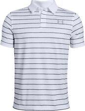 Under Armour Boy's Tour Tips Short Sleeve Golf Polo Shirt Save 30%!!  XL