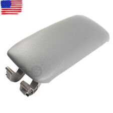 Gray Leather Center Console Lid Armrest Cover Cap For Audi A3 S3 A5 2003-2013