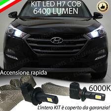 KIT LAMPADE ABBAGLIANTI LED HYUNDAI TUCSON LED H7 6000K 6400 LUMEN