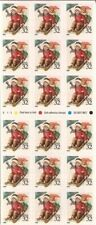 US Stamp - 1995 Christmas Children Sledding Booklet of 18 Stamps #3013a