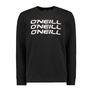 O'neill Triple Stack Crew Mens Jumper Sweater - Black Out All Sizes