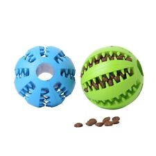 Chew Interactive Pet Ball Food Funny Elasticity Tooth Clean Toy For Dog