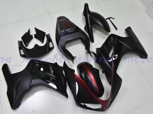 Fairing Set Cowl Kit Body work Fit For SUZUKI SV650S 2003-2008 Plastic Red Black