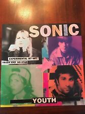 Sonic Youth Experimental Jet Set, Trash And No Star 2-sided Promo Flat 12x12