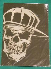 Hip Hop Skull Mylar reusable stencil 10 mils for Airbrush design art tattoo