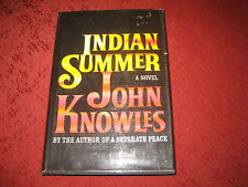 INDIAN SUMMER  by John Knowles (1966, Hardcover)
