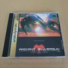 Sega Saturn Radiant Silvergun 1998 Japan SS Game Soft Disc Manual No obi