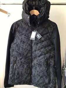 GYM KING MENS MEDIUM MARBLE REFLECTIVE COAT NEW SEASON LAST ITEM £45 Coat