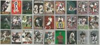 Atlanta Falcons 27 card 1997 insert lot-all different
