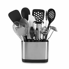 OXO Good Grips® 15-Piece Kitchen Tool Set Stainless Steel Holder