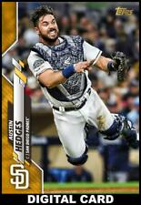 Topps BUNT Austin Hedges GOLD PHYSICAL SERIES BASE 2020 [DIGITAL CARD]