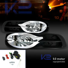 For 2012-2013 Honda Civic 2dr Coupe Clear Bumper Fog Lights+Switch+Wiring