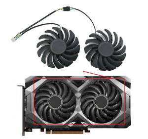 Fan For MSI RADEON RX 5600XT 5700XT 5600 5700 XT MECH OC GPU Card PLD09210S12HH