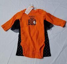 Carters Girls Bodysuit Tutu Pant  SetSz 3 Months Aunties Little BOO Halloween