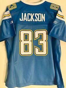 Reebok Women's Premier NFL Jersey San Diego Chargers Jackson Blue Alt sz S