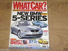 What Car? Cars, 2000s August Magazines