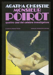 Agatha Christie - Monsieur Poirot  - 1° edizione Omnibus Gialli Mondadori