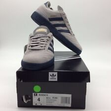 Adidas Mens Busenitz Skateboard Shoes Gray Lace Up Low Top Sneakers DB3122 4 New