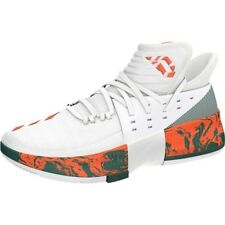 Adidas SM D Lillard Dame 3 NBA March Madness Miami Hurricanes Basketball  Shoes 80201cb90