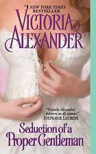 SEDUCTION of a PROPER GENTLEMAN Victoria Alexander  Paperback ROMANCE  GOOD COND